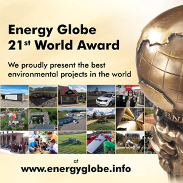 Fotografia 21st Energy Globe World Award – Web Stream, Videos &