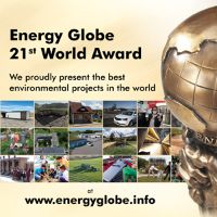 21st Energy Globe World Award – Web Stream, Videos & detailed Information of all Winners & Nominees at www.energyglobe.info