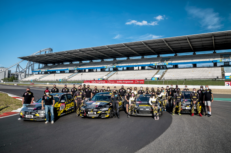Fotografia Imagen del equipo completo del Giti Tire Motorsport.