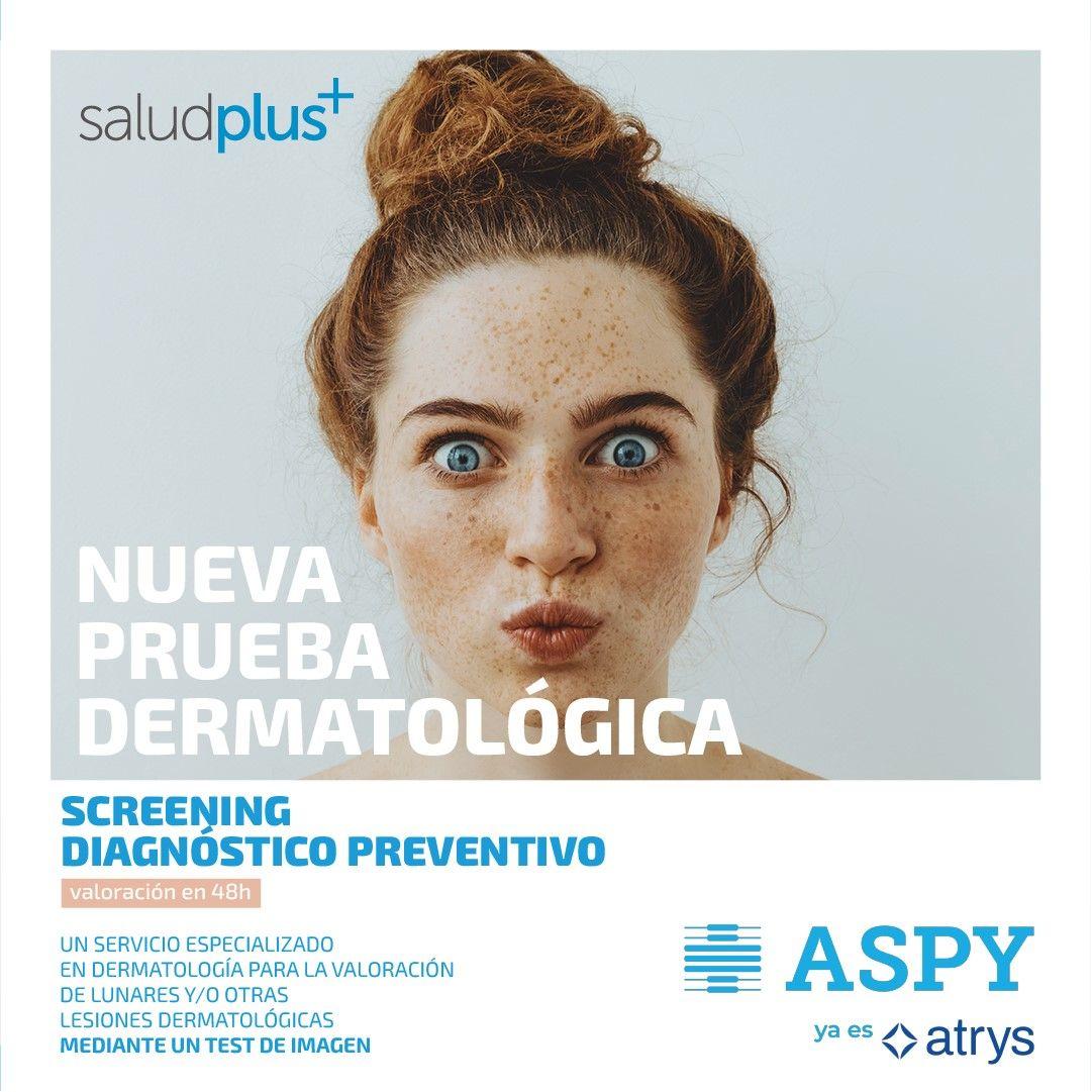 Fotografia Prueba diagnóstica preventiva del cáncer de piel