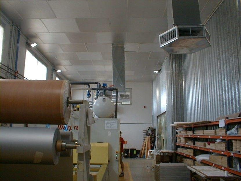 Fotografia Instalación industrial