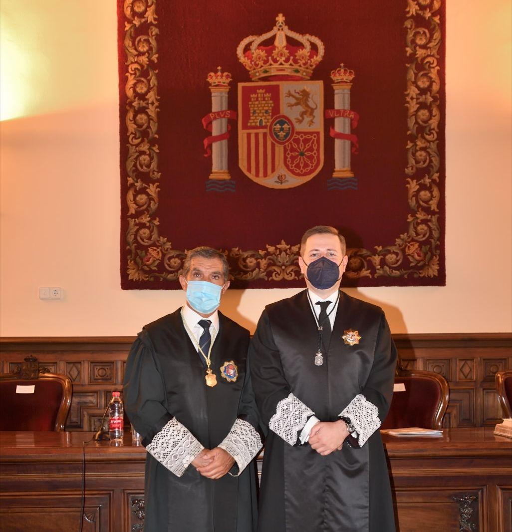 Fotografia Pte TSJA y pte Consejo Andaluz