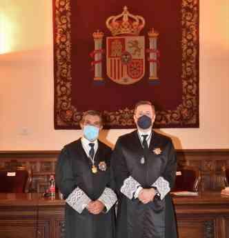 Pte TSJA y pte Consejo Andaluz