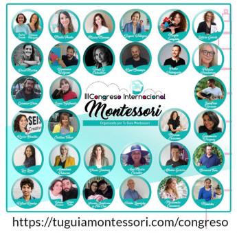 Foto de Ponentes III Congreso Internacional Montessori