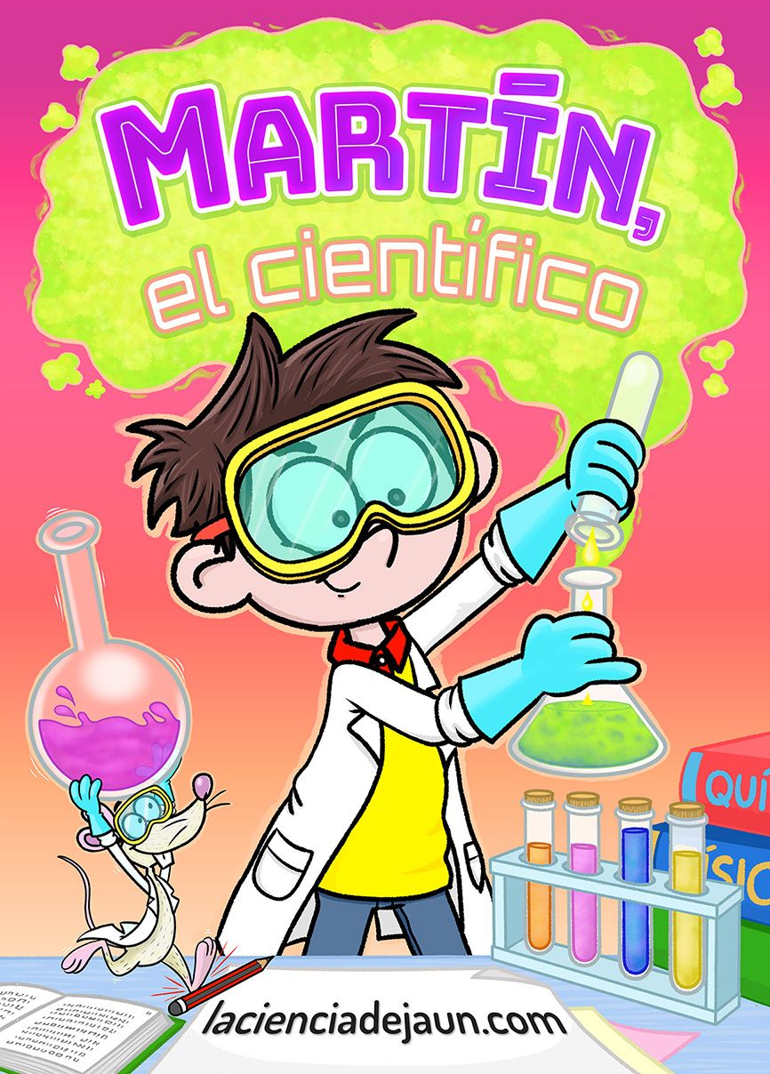 Foto de Martín el científico