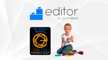 Foto de El Editor, ganador de un EdTech Award