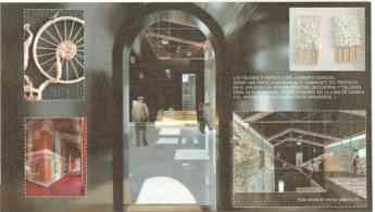 Foto de Laminas con proyectos de rehabilitación de algunas estaciones