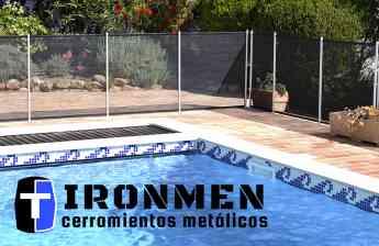 Este verano, pon una valla en tu piscina y protege a tu familia. Por Cerramientos IRONMEN