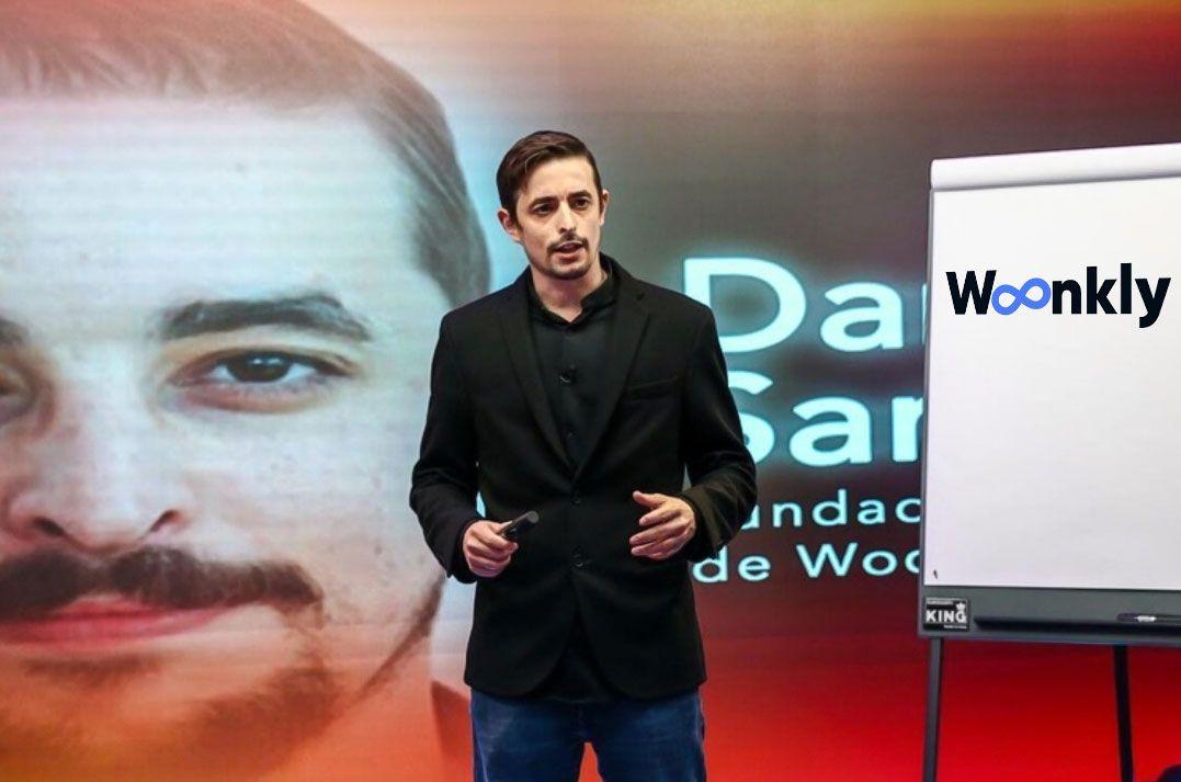 Foto de Daniel Santos, CEO y fundador de Woonkly
