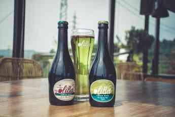Foto de OLIBA Green Beer bottles