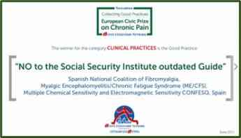 European Civic Prize on Chronic Pain