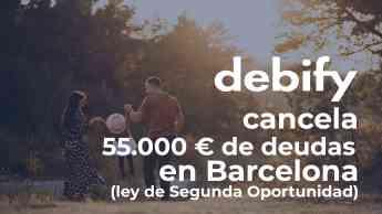 debify cancela 55.000 € en deudas en Barcelona