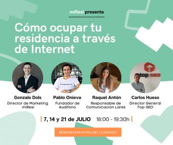 Noticias Comunicación | miResi convoca un encuentro digital para