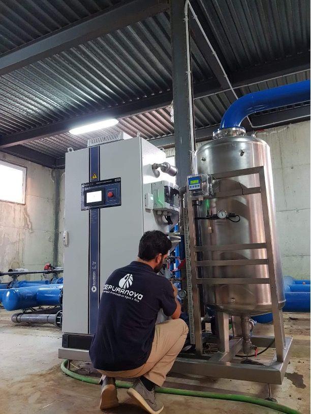 Aumenta el uso del ozono en la agricultura y en los tratamientos de agua, por Depuranova