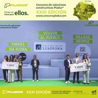 Ganadores XXXI Concurso de Soluciones Constructivas Pladur®