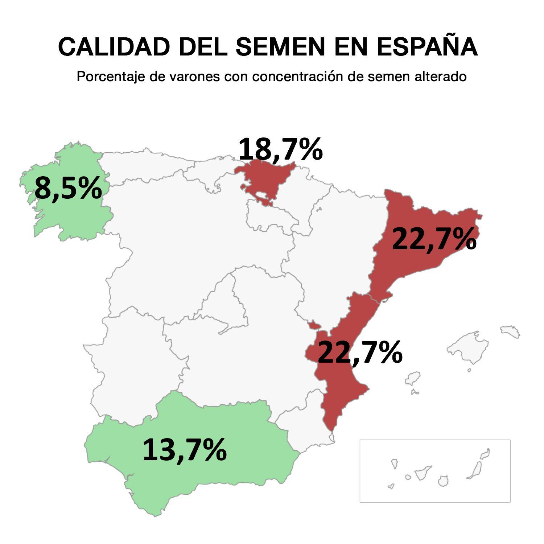 Foto de Calidad del Semen en España
