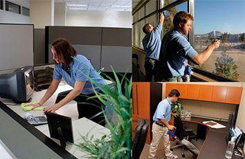 Fotografia limpieza de oficinas en Zaragoza