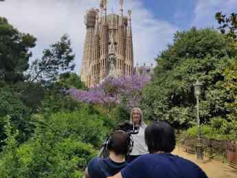 Making off del spo en Barcelona