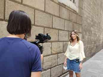 Foto de Making off del spot en Barcelona