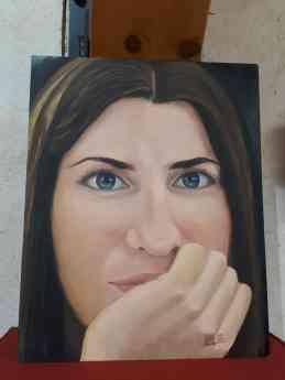 Foto de La obra del pintor local Alfonso Plaza, hasta el 31 de julio,