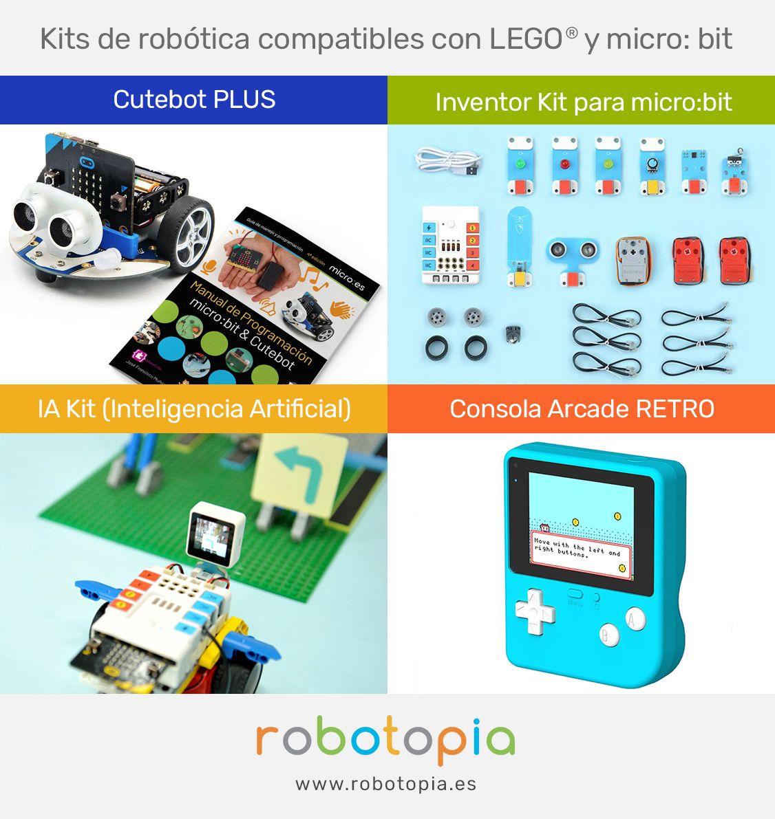 Fotografia kits de robótica compatibles con micro:bit para usar en