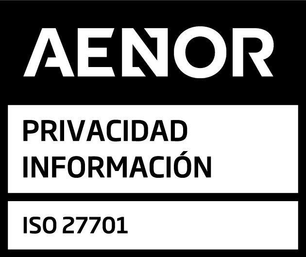Fotografia AENOR-ISO27701