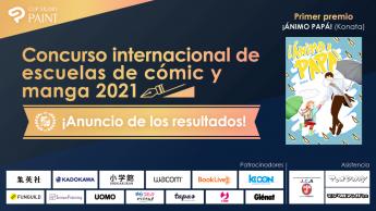 Cabecera: Concurso internacional de escuelas de cómic y manga