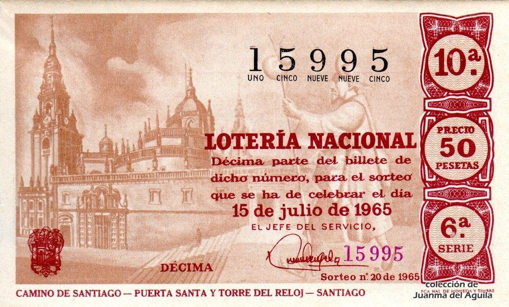 Foto de El Camino de Santiago en www.nacionalloteria.es