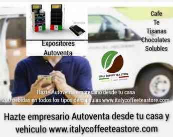 Italy Coffee Tea Store ofrece trabajo de empresario sin inverir