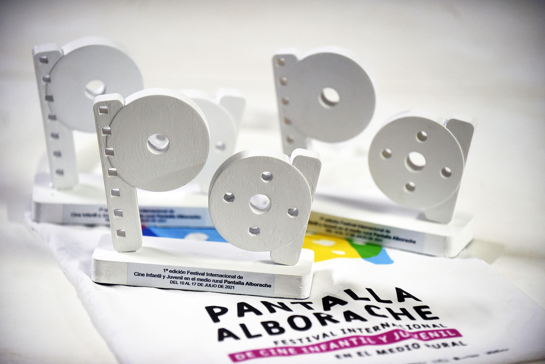 Foto de Estatuillas de los premios Pantalla Alborache