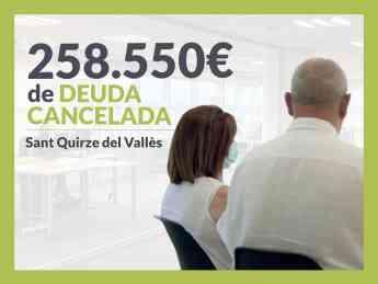 Josep y María Nieves, exonerados con Repara Tu Deuda con la Ley de