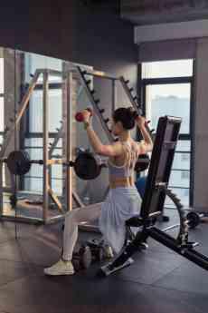 Estilo de vida saludable con ejercicio