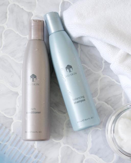 Foto de Nu Skin balancing Shampoo & Rich conditioner