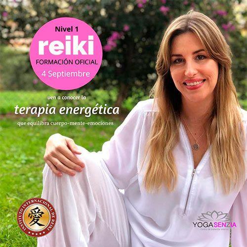 Foto de curso iniciación a Reiki Fuengirola