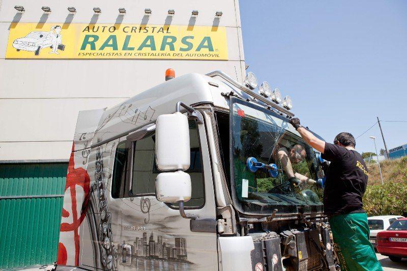 Fotografia Servicio de Ralarsa Trucks