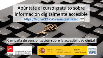 Campaña de concienciación sobre accesibilidad digital