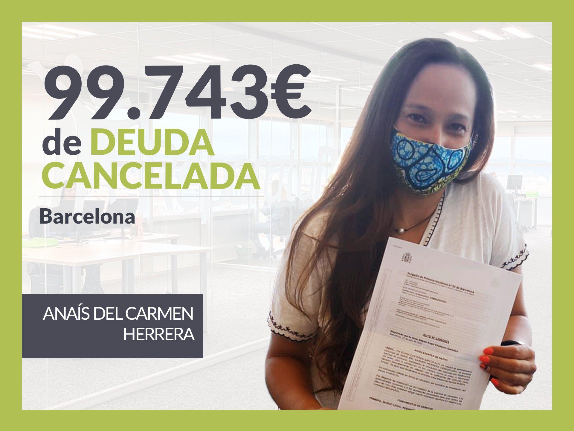Repara tu Deuda Abogados cancela 99.743 ? en Barcelona (Catalunya) con la Ley de Segunda Oportunidad