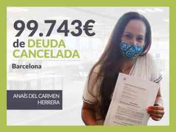 Anaís del Carmen Herrera, exonerado con Repara Tu Deuda con la Ley de Segunda Oportunidad