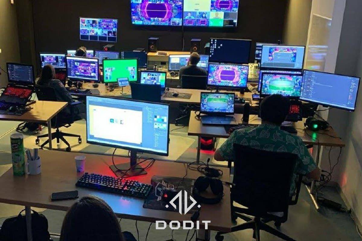 Foto de Dodit emite mas de 1.200 horas de straming para el mundo
