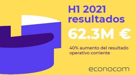 Econocom presenta un fuerte crecimiento de los resultados semestrales en el 2021