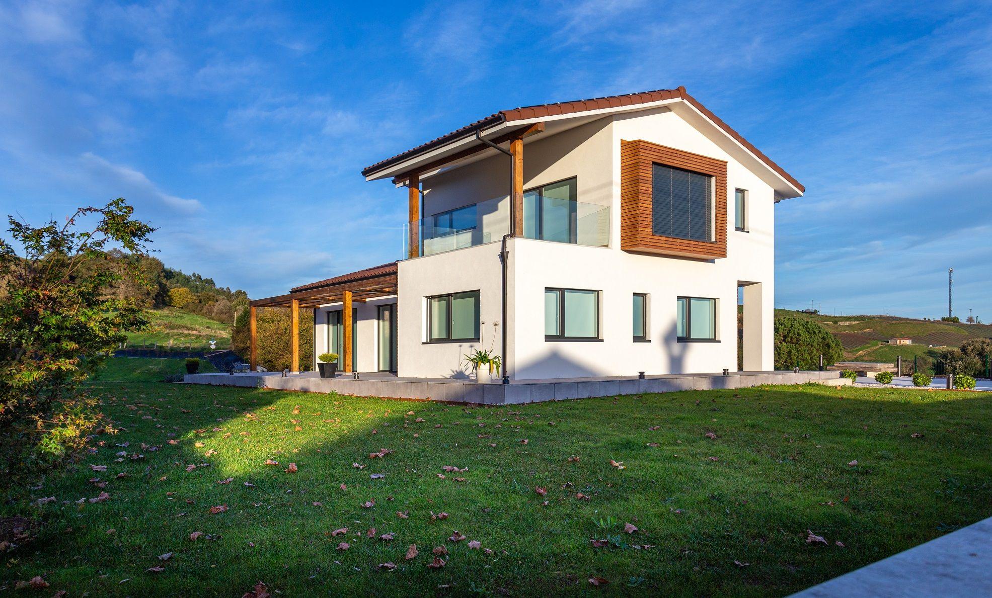 Fotografia Casa Patxaran, Cantabria. Vivienda unifamiliar de obra