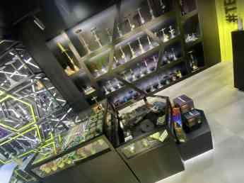 Foto de la tienda de cachimbas más moderna de España