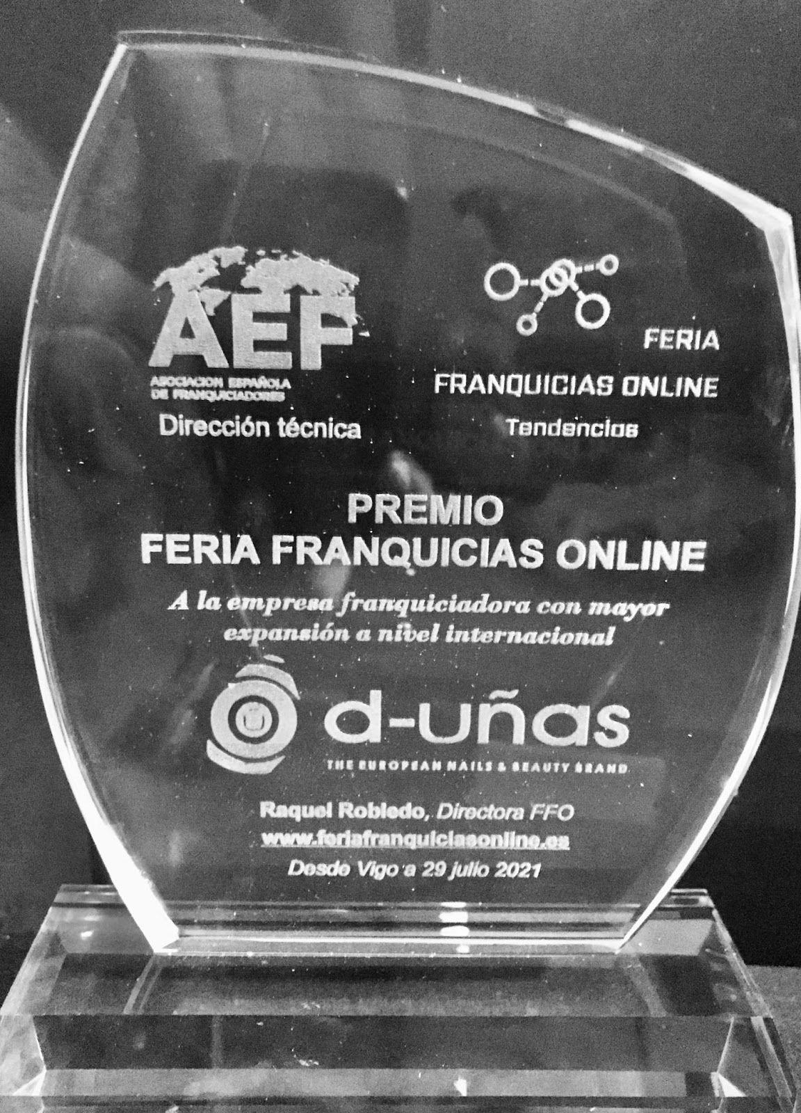 Foto de Premio Feria Franquicias Online