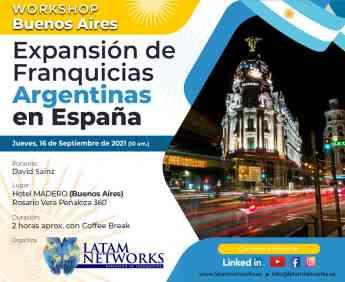 La consultora Latam Networks convoca una nueva  misión comercial española en Argentina