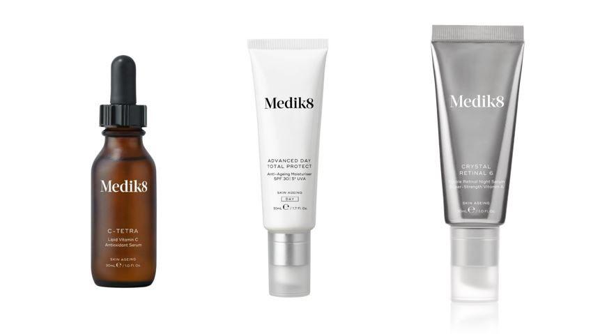 Los 3 ingredientes claves a incorporar en la rutina facial de Medik8
