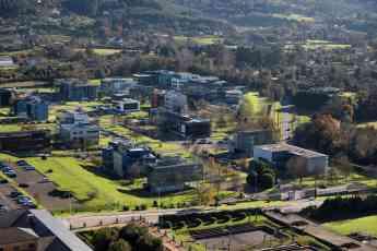 Parque Científico-Tecnológico de Gijón situado en el espacio