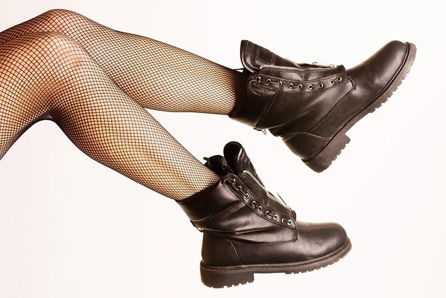 Foto de botas y zuecos