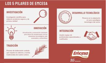 Los 5 pilares de EMCESA