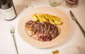 Noticias Nutrición | Entrecote del Pirineo braseado con sus patatas