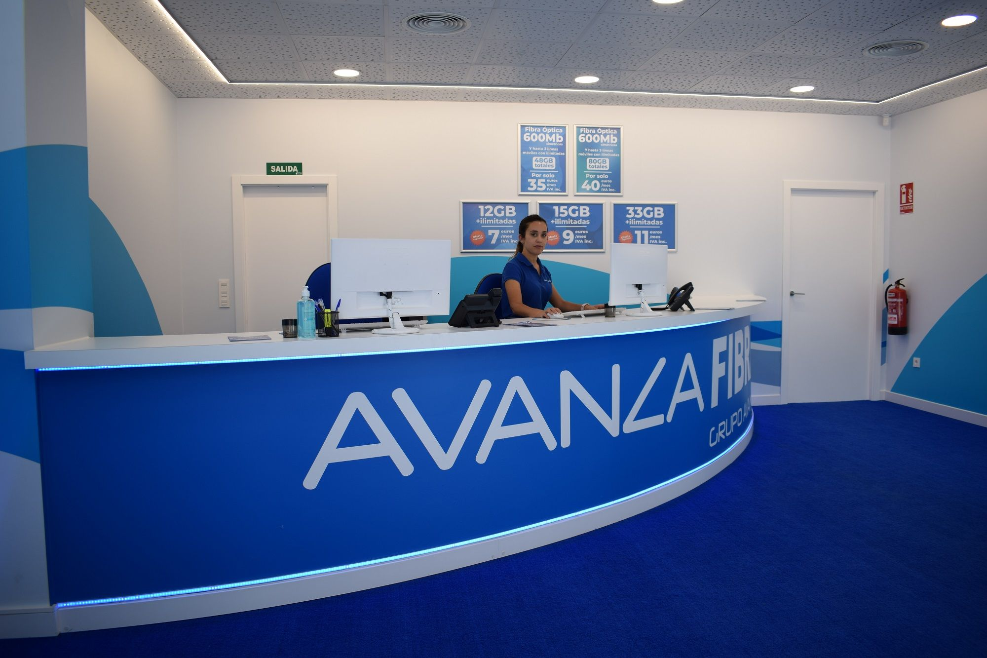 Foto de Avanza Fibra abre su tienda número 50 en Alcantarilla